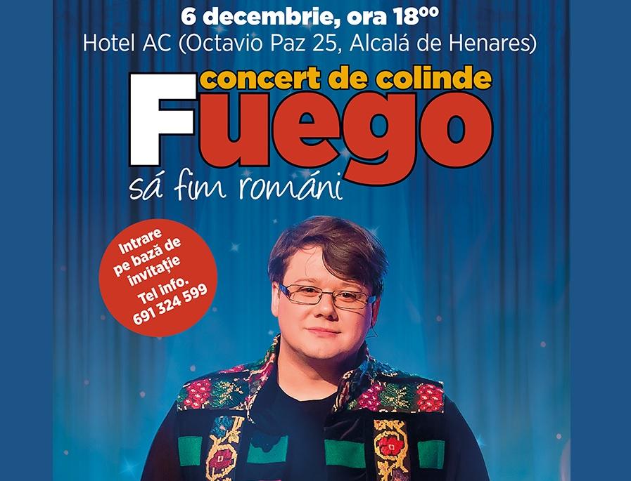 Concurs: Invitații la Concert de Colinde Fuego
