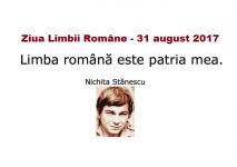 """Concursul de interpretare pentru copii """"Limba română este patria mea"""". Înscrieri 7 – 28 august 2017"""