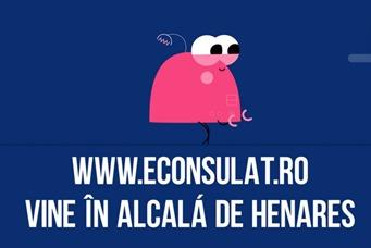 Consuli la dispoziţia ta în Alcalá de Henares pentru a afla cum să foloseşti www.econsulat.ro