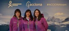 Cuatro científicas españolas de expedición en Antártida para investigar el cambio climático
