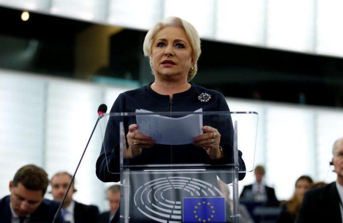 VIDEO: Dăncilă l-a asigurat pe Tajani că legile justiţiei urmăresc alinierea la legislaţia europeană