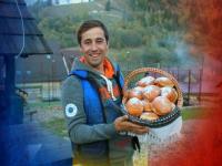 Daniel Tiron ne propune o rețetă de pampuşte, un desert moldovenesc al bunicii din Bucovina