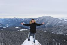 Daniel Tiron prin fotografiile sale ne arată frumusețea iernii în Bucovina
