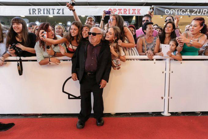 Danny de Vito, recompensat cu premiul Donostia la Festivalul Internaţional de Film de la San Sebastian