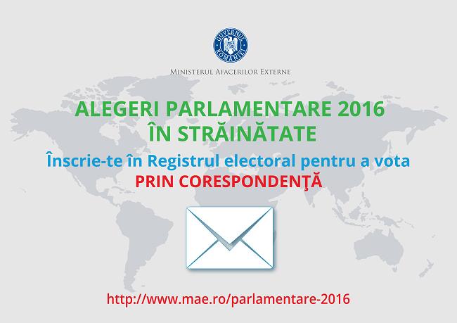 De la 1 aprilie te poți înscrie în Registrul electoral: în 2016, românii din străinătate nu vor mai sta la cozi pentru a vota