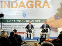 Deschiderea târgului INDAGRA – ediţia 2016