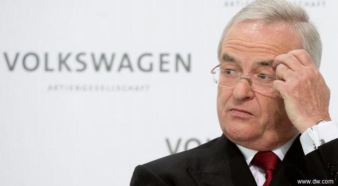 Directorul general al Volkswagen, Martin Winterkorn, a demisionat