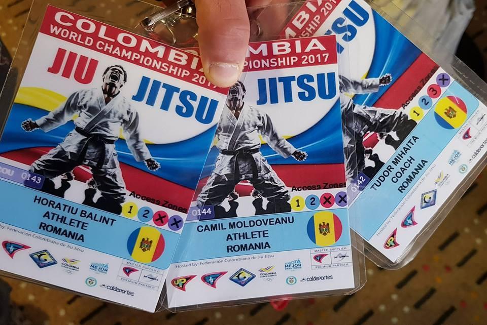 Doi sportivi români au participat la Campionatul Mondial de Ju-Jitsu pentru seniori din Bogota – Columbia