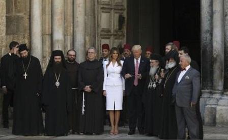 Donald Trump devine primul președinte american în funcție care vizitează Orașul Vechi din Ierusalim