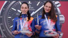 Două românce medaliate cu aur la Mondialele de juniori, în proba de bob-2 feminin
