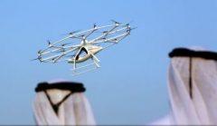 VIDEO: Dubaiul dorește să devină primul oraș din lume înzestrat cu taxiuri zburătoare