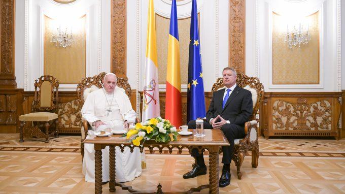 Dumnezeu să binecuvânteze România! Papa Francisc, în primul discurs rostit la Bucureşti