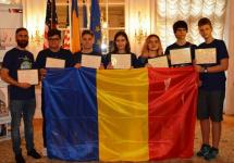 """Echipa României la """"FIRST Global Robotics Olympics"""" a primit diplome de excelență de la Ambasada României în SUA"""