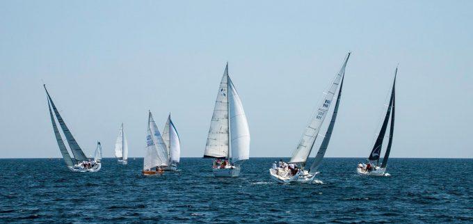 Echipajele Hope, Ricochet şi Alexandra - câştigătoarele Regattei Rotary Mangalia la clasele ORC 1, ORC 2 şi, respectiv, Open