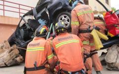 El equipo de excarcelación de Bomberos de Gandia se prepara para el Mundial de rescate de Rumanía