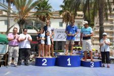 El nadador rumano Savescu y Quesada ganaron la XVIII Travesía a Nado Bahía de La Herradura