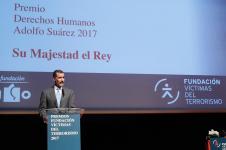 El Rey Felipe VI en la entrega de los premios Fundación Víctimas del Terrorismo 2017
