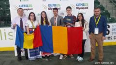 Elevi din România medaliați cu argint și bronz la Genius Olympiad din SUA