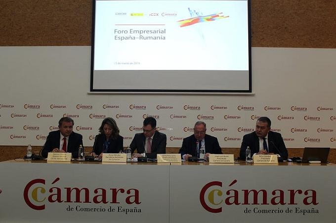 Empresas españolas y rumanas estrechan sus relaciones bilaterales en el Foro Empresarial España-Rumanía