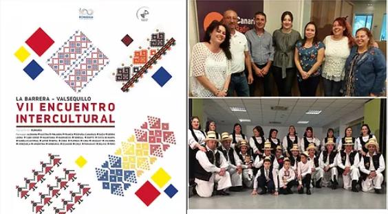 """Entrevista radiofónica en el programa """"El Alpende"""" de Canarias Radio, sobre el VII Encuentro Intercultural en Canarias"""