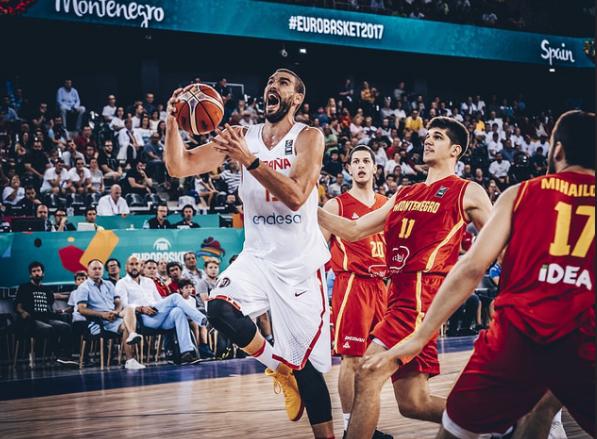 Eurobasket 2017: Spania s-a impus în fața Muntenegrului cu 99-60