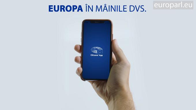 """Europa pe telefonul tău: descoperă prezentul și viitorul UE cu aplicația """"Citizens' App"""""""