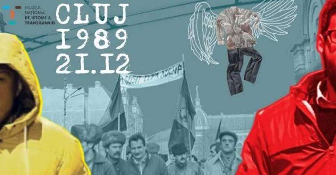 """Expoziţie-eveniment la 30 de ani de la Revoluţie - """"CLUJ. 21.12.1989"""", la Muzeul Naţional de Istorie a Transilvaniei"""