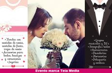Feria de Bodas, Bautizos y Comuniones en España – segunda edición (19 y 20 de noviembre) – elegancia, estilo, profesionalismo