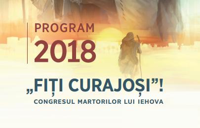 """""""Fiți curajoși!"""": Congresul anual al Martorilor lui Iehova în Spania, 17-19 august 2018"""