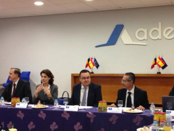 """Forumul economic cu tema """"Oportunităţi de afaceri cu România"""", desfășurat în Albacete"""