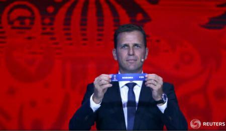 Fotbal – CM 2018: România va întâlni Danemarca, Polonia, Muntenegru, Armenia și Kazahstan în Grupa E din preliminarii