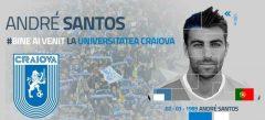 Fotbal: CS Universitatea Craiova l-a transferat pe portughezul Andre Santos