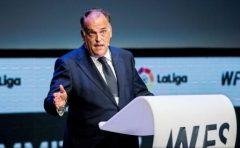 Fotbal: Cluburile i-au mărit salariul preşedintelui ligii spaniole, Javier Tebas, la 1,2 milioane euro