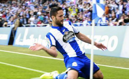 Fotbal: Florin Andone a marcat pentru Deportivo La Coruna