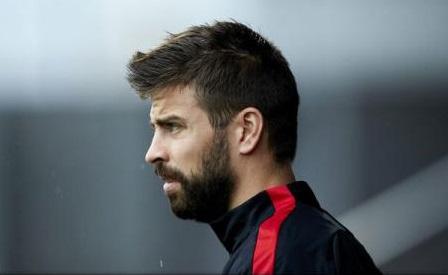 Fotbal: Pique (FC Barcelona), în lacrimi după incidentele din Catalonia