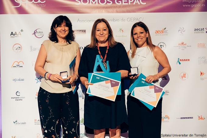 GEPAC premiază Spitalul Universitar din Torrejón în cadrul premiilor Albert Jovell
