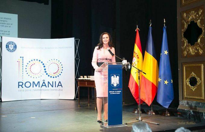 """Gala """"100 pentru Centenar"""" – la Madrid; Intotero: Românii din diaspora conturează imaginea poporului nostru"""