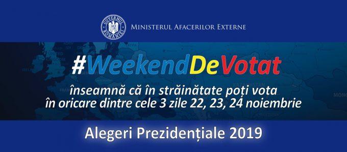 Ghidul alegătorului român din străinătate - alegerile prezidențiale 2019