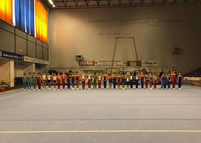 Gimnastică: 12 medalii pentru sportivii reşiţeni, la Naţionalele de juniori III
