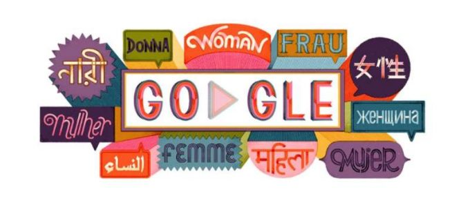 Google dedică un doodle special Zilei Internaţionale a Femeii