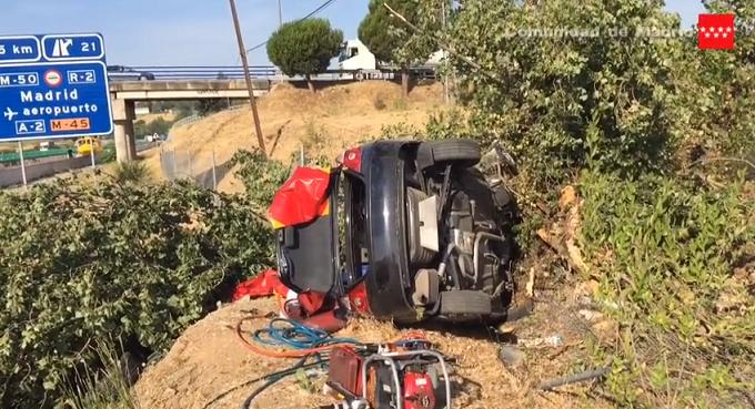 VIDEO: Grav accident în Spania pentru o familie de români. Un copil de 8 ani şi bunica lui au murit