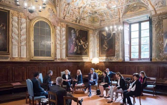 Guvern: Premierul Dăncilă s-a întâlnit cu reprezentanţii Comunităţii Sant'Egidio