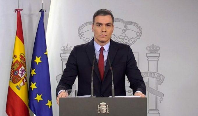 Guvernul spaniol cere parlamentului prelungirea stării de alertă până la 11 aprilie