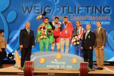 Haltere: Dumitru Captari a cucerit o medalie de bronz la Mondialele de la Anaheim