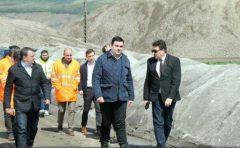 Hunedoara: Ministrul Transporturilor solicită o monitorizare video a șantierelor de lucrări la autostrada Deva-Lugoj