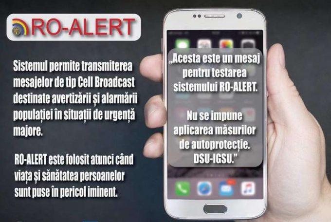 IGSU: Încep noile testări ale sistemului de avertizare a populaţiei - RO-ALERT
