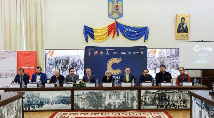 """VIDEO: Iaşi – A fost lansat proiectul """"Centenarul Filmului Românesc – 100 de ani, 100 de filme, 100 de oraşe"""""""