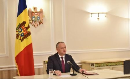 Igor Dodon începe azi o vizită de trei zile la Bruxelles