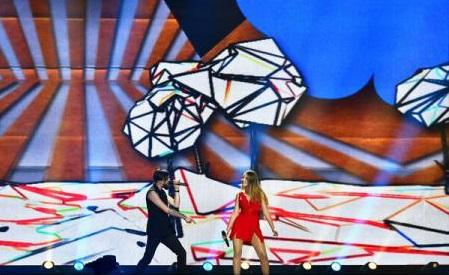 Ilinca și Alex Florea cântă joi pentru un loc în finala Eurovision; juriile de specialitate au votat miercuri