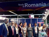 Inaugurarea pavilionului României la expoziţia universitară din Sevilla